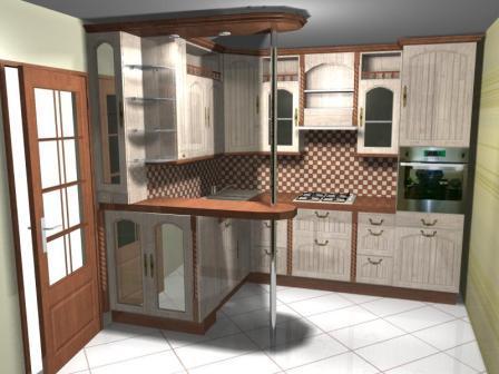 Проект кухни в дома 137 серии