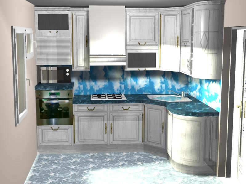 Кухни в типовые дома